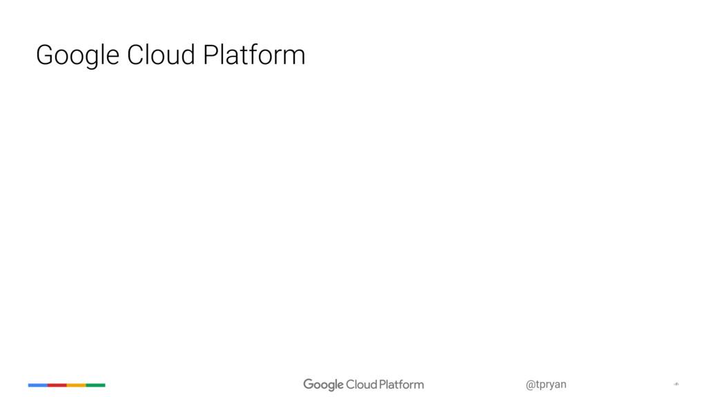 @tpryan ‹#› Google Cloud Platform