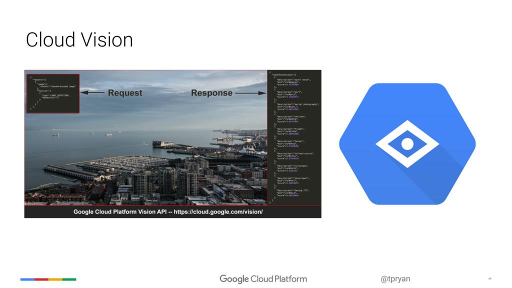 ‹#› @tpryan Cloud Vision