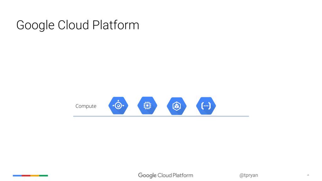 @tpryan ‹#› Google Cloud Platform Compute