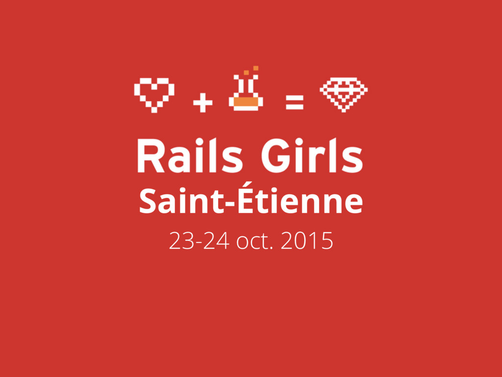 Saint-Étienne 23-24 oct. 2015