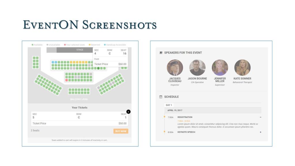 EventON Screenshots