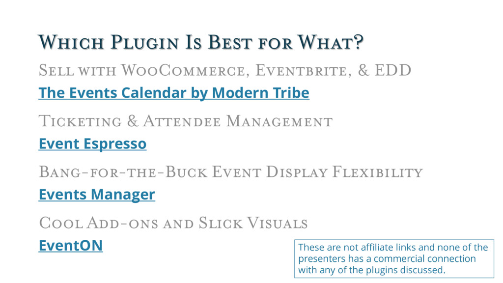 Which Plugin Is Best for What? Sell with WooCom...