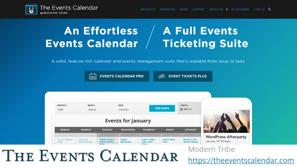 The Events Calendar Modern Tribe https://theeve...