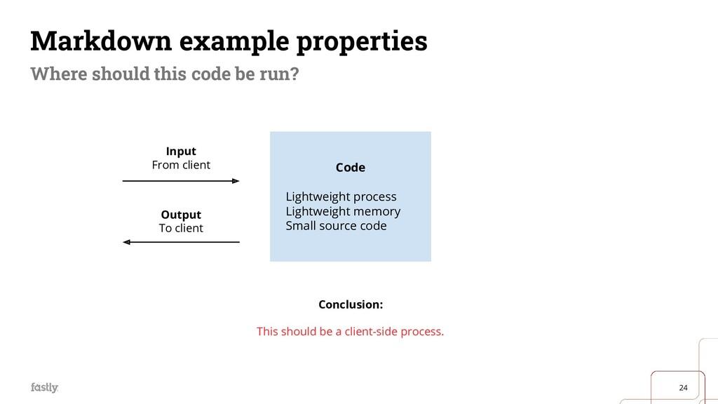 24 Code Lightweight process Lightweight memory ...
