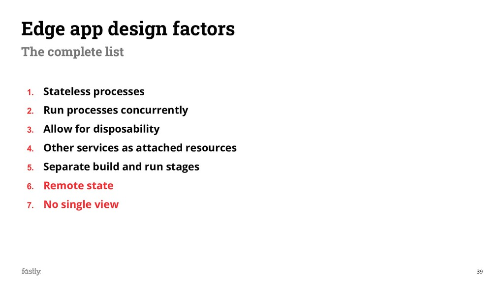 39 Edge app design factors The complete list 1....