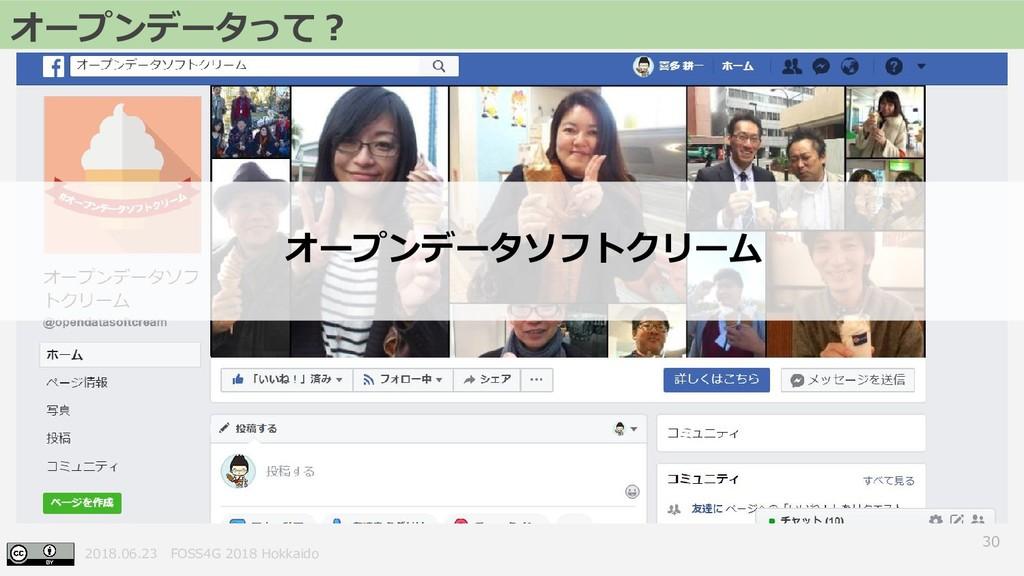 2018.06.23 FOSS4G 2018 Hokkaido 30 オープンデータって? オ...