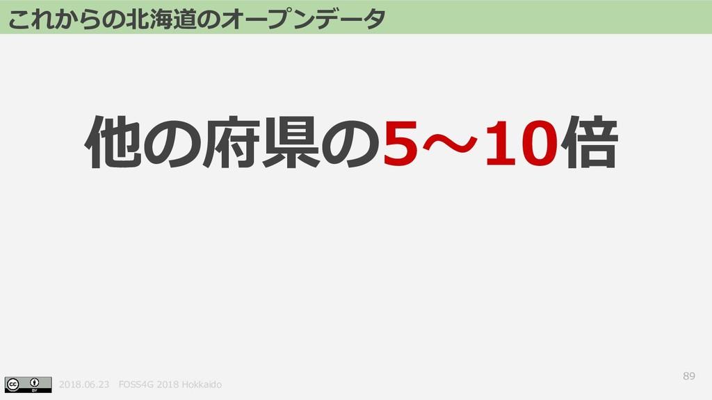 2018.06.23 FOSS4G 2018 Hokkaido 89 これからの北海道のオープ...