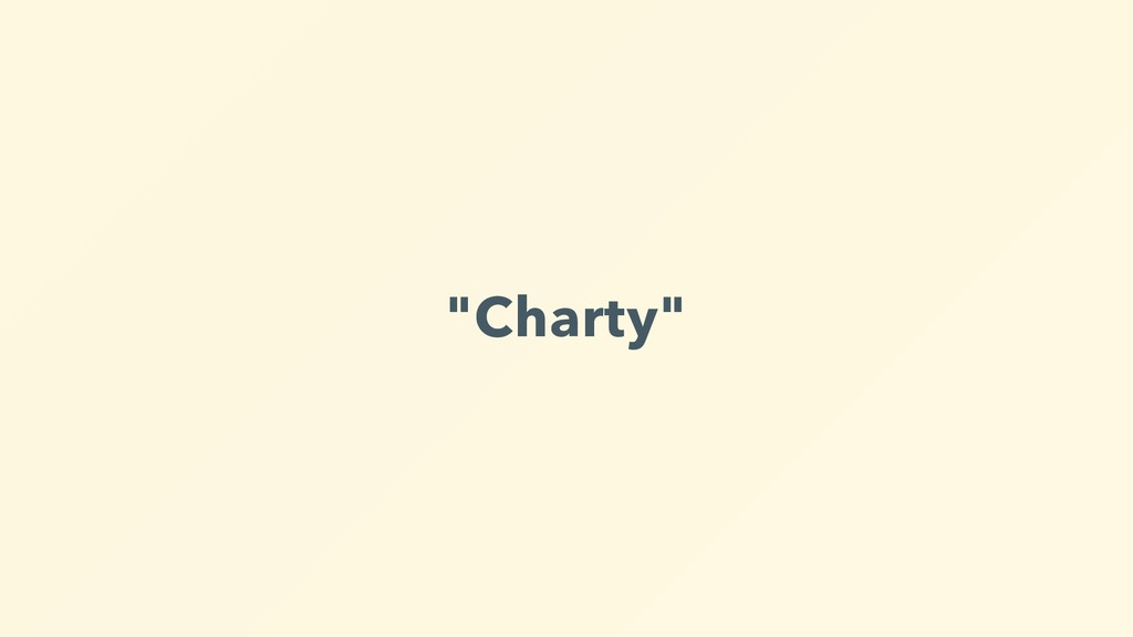 """Charty"""
