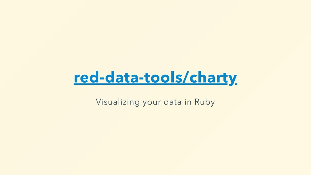 red-data-tools/charty Visualizing your data in ...