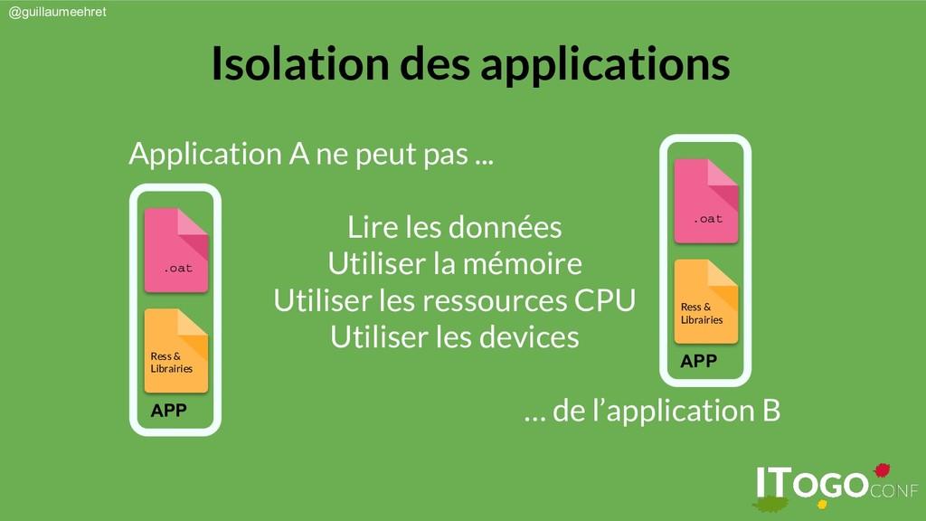 @guillaumeehret Application A ne peut pas ... L...