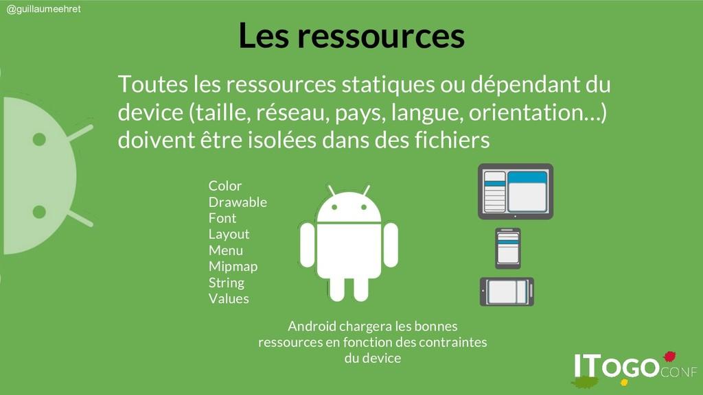 @guillaumeehret Les ressources Toutes les resso...