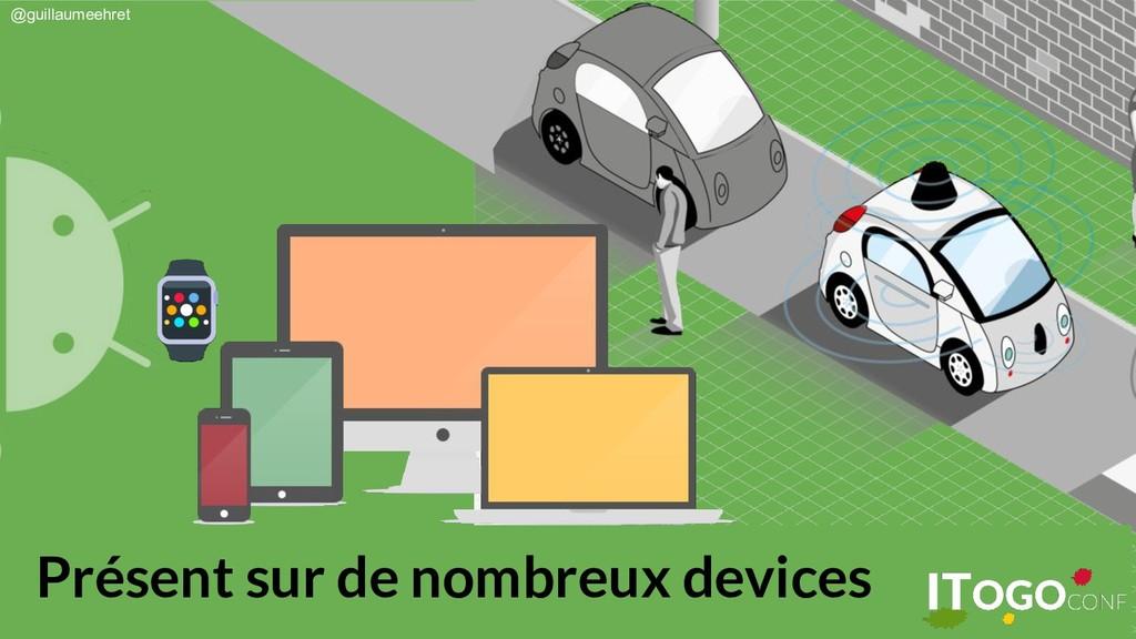@guillaumeehret Présent sur de nombreux devices