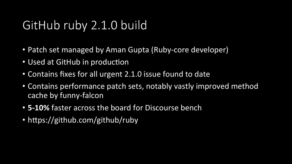 GitHub  ruby  2.1.0  build