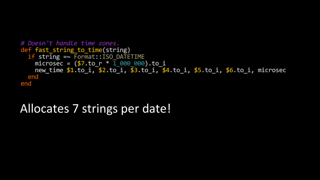 Allocates	