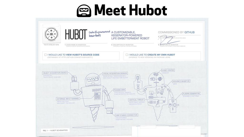 + Meet Hubot