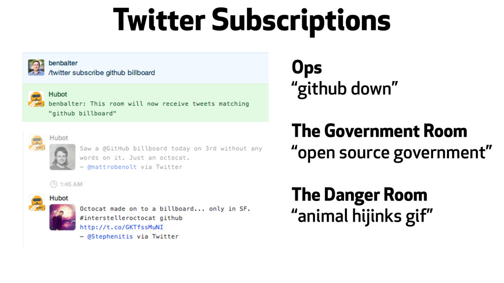 "Twitter Subscriptions Ops ""github down"" The Gov..."