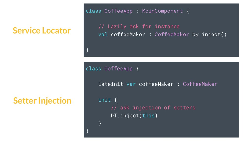 class CoffeeApp : KoinComponent { // Lazily ask...