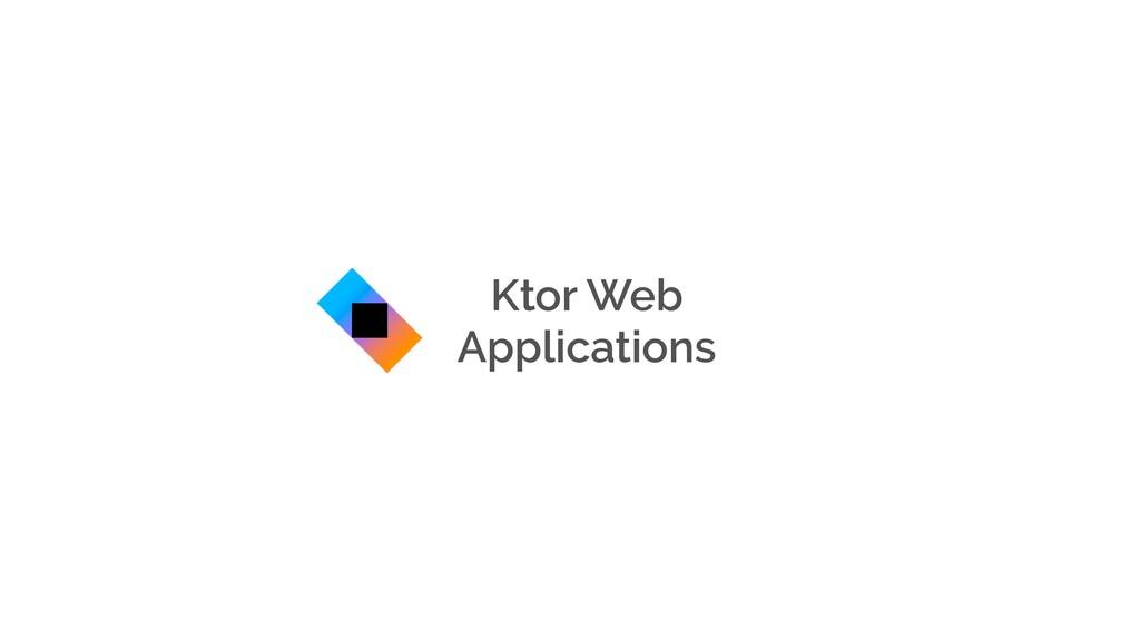 Ktor Web Applications