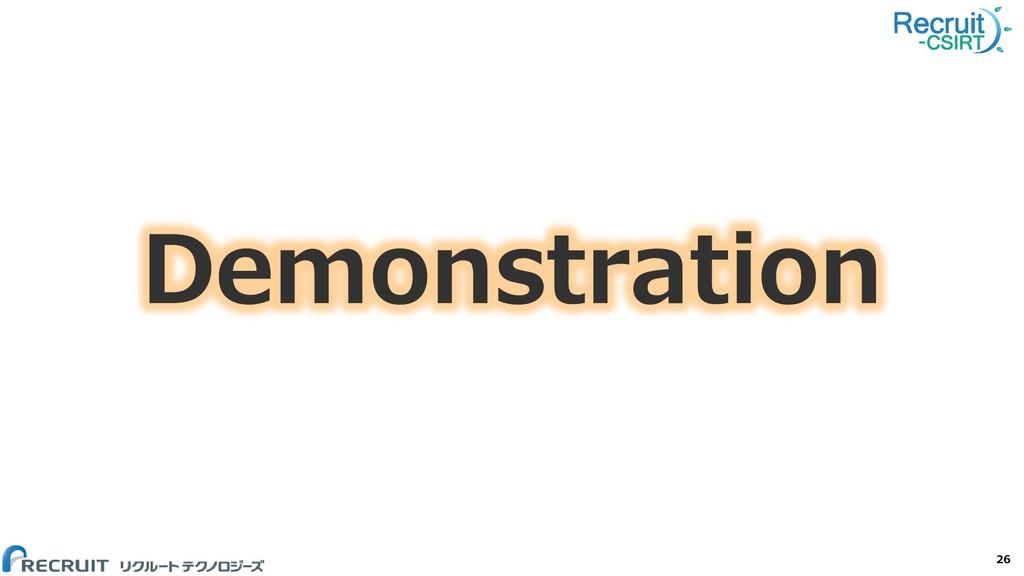 Demonstration 26