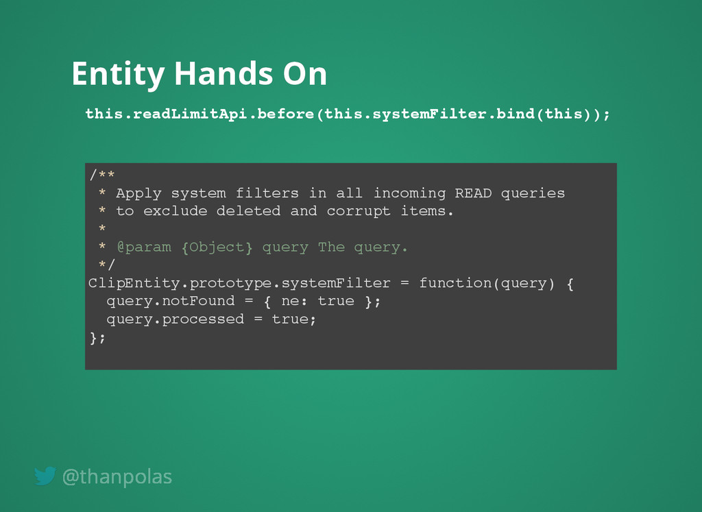 Entity Hands On Entity Hands On this.readLimitA...