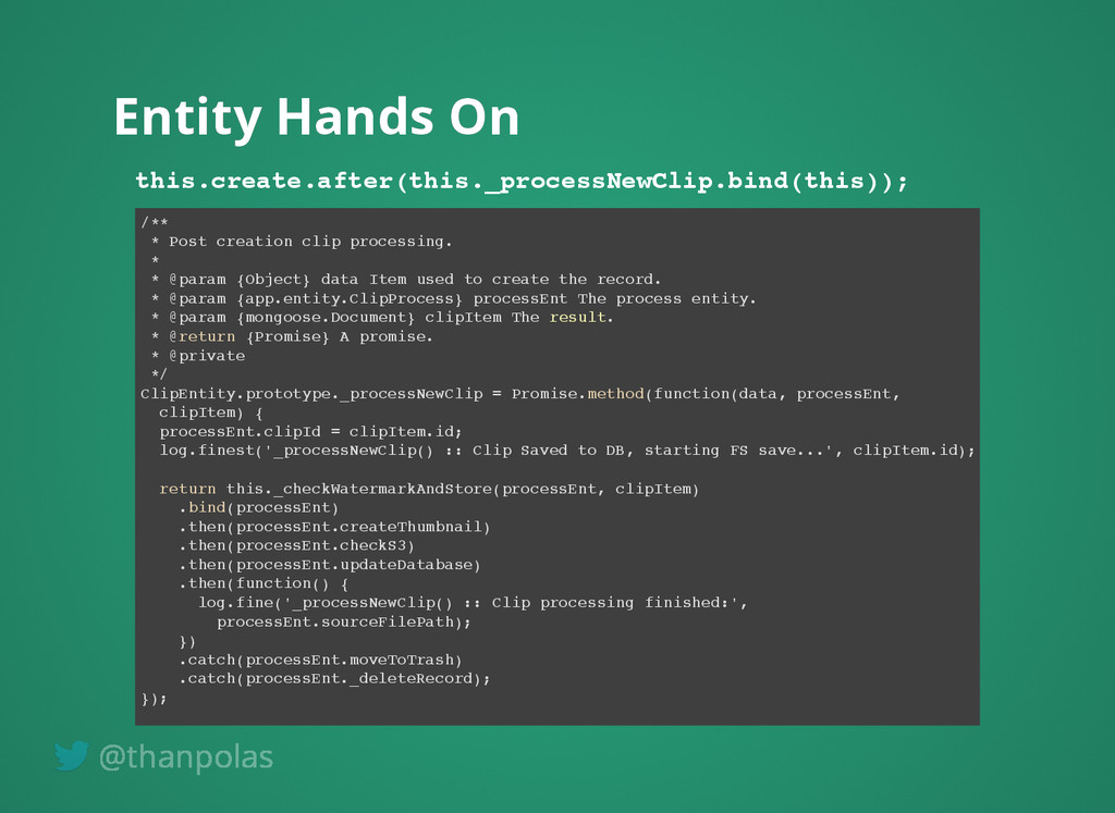Entity Hands On Entity Hands On this.create.aft...