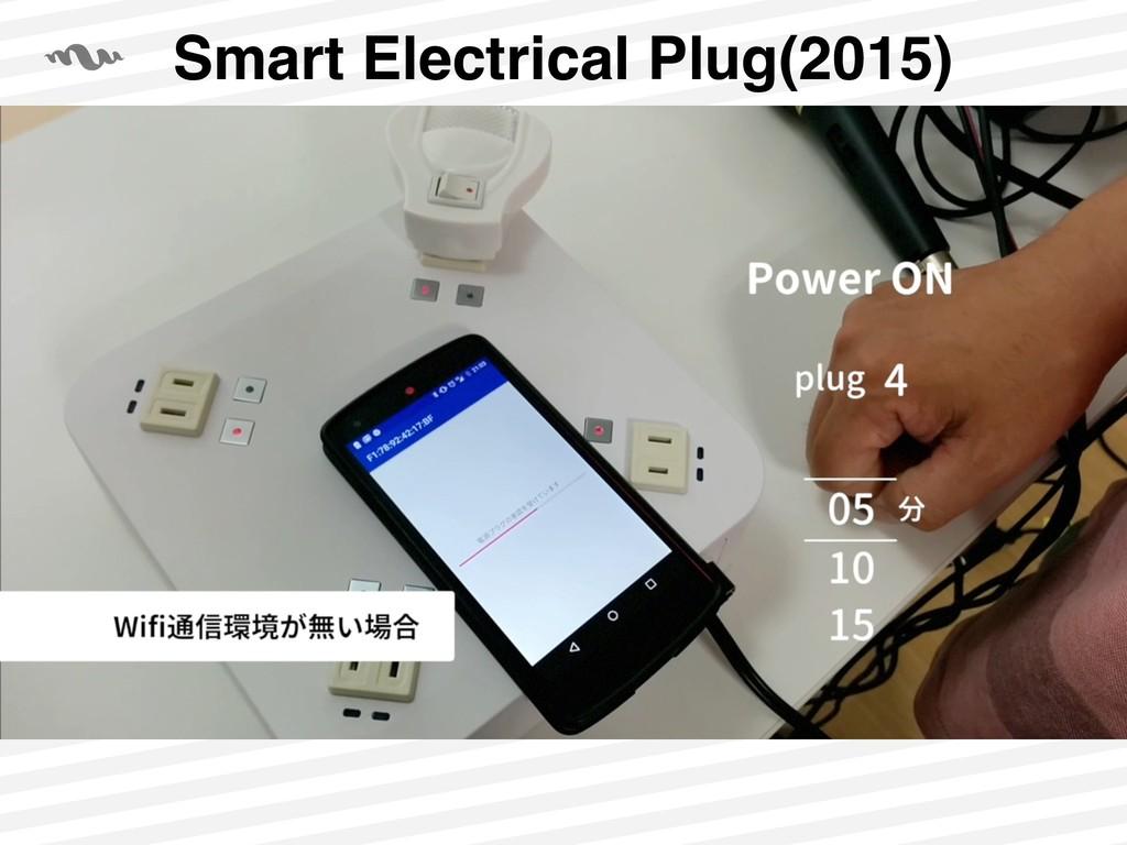 Smart Electrical Plug(2015)