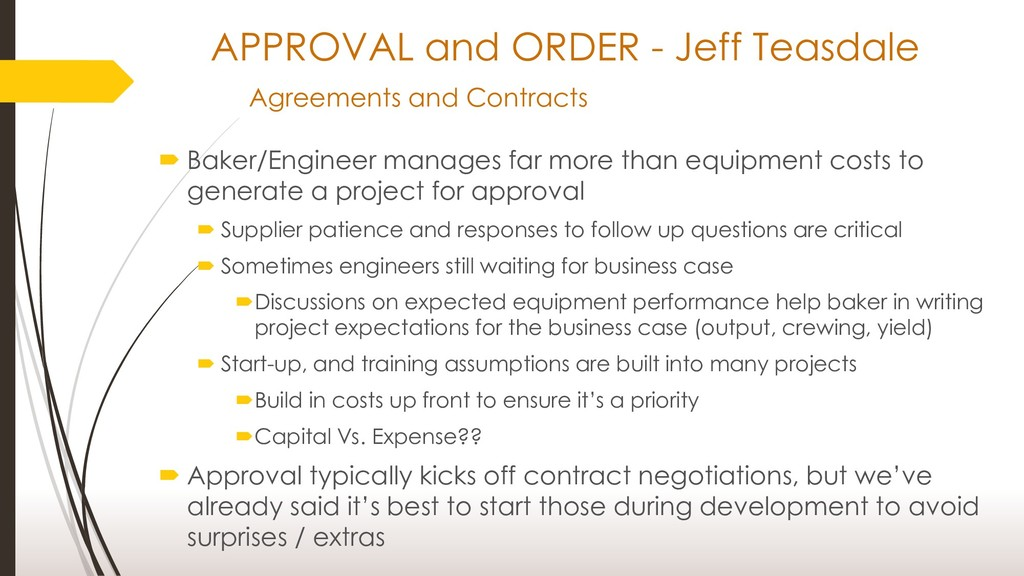 APPROVAL and ORDER - Jeff Teasdale Agreements a...