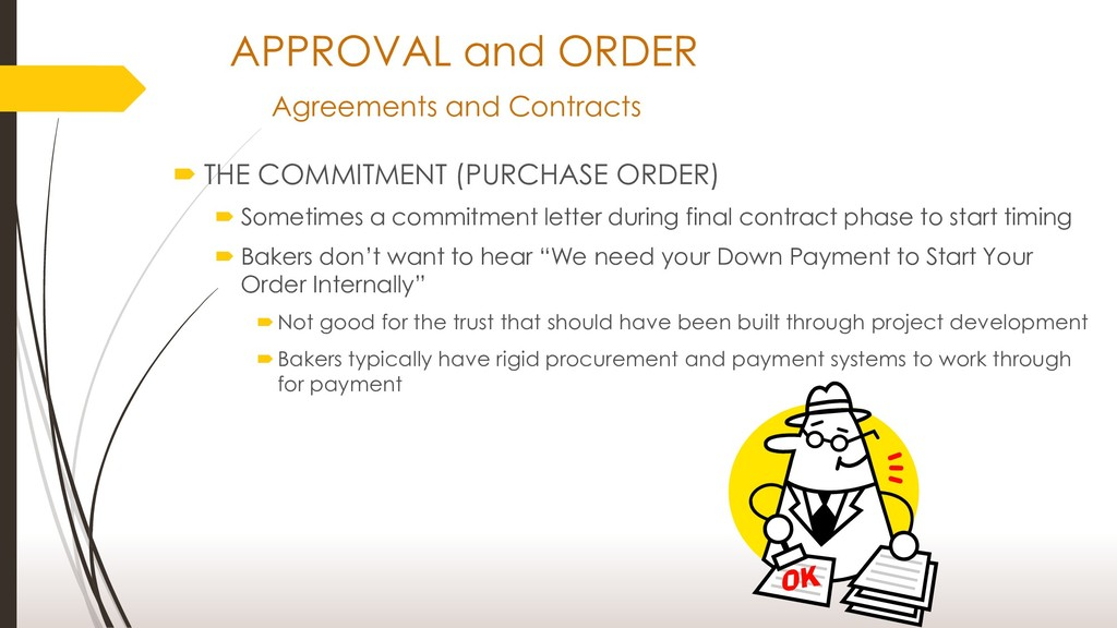 APPROVAL and ORDER Agreements and Contracts  T...