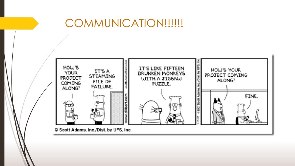COMMUNICATION!!!!!!