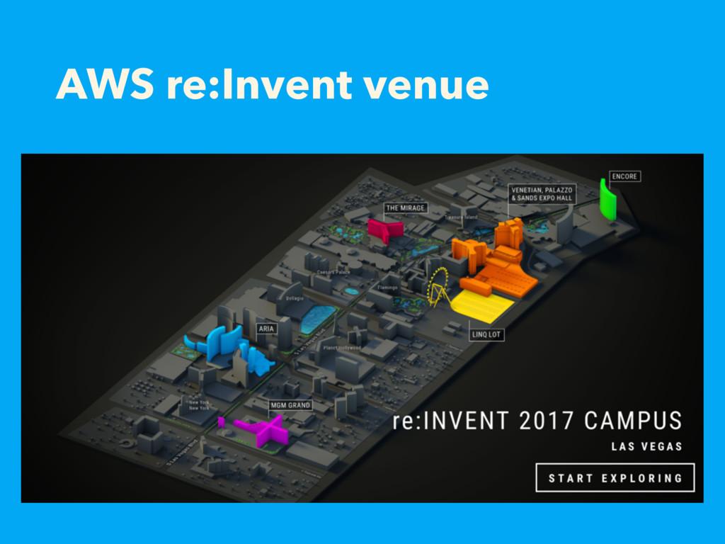 AWS re:Invent venue