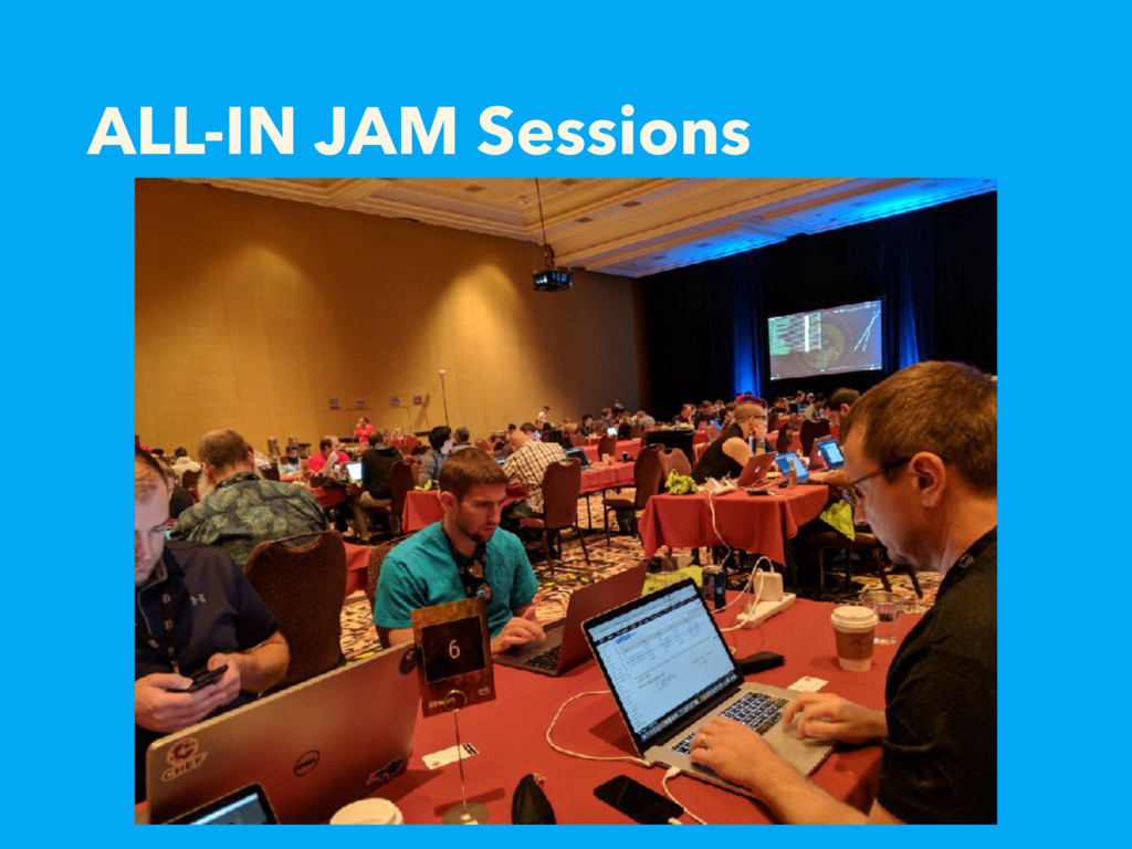 ALL-IN JAM Sessions