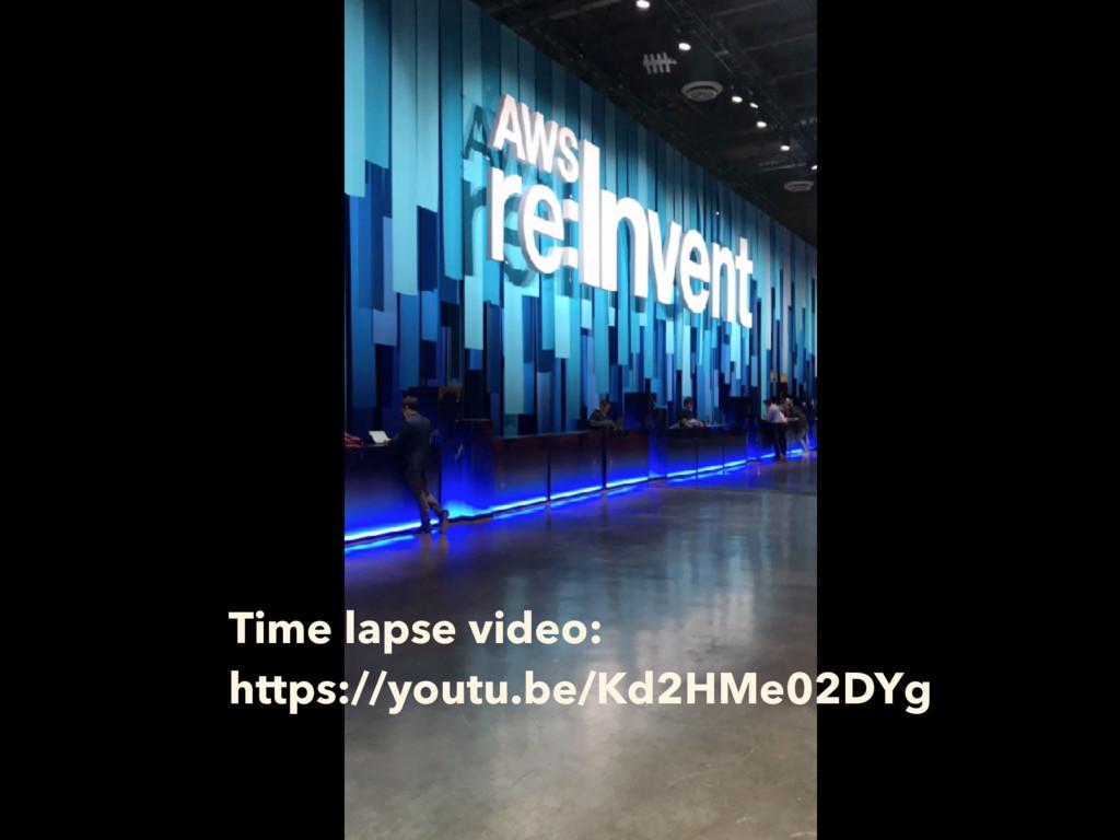 Time lapse video: https://youtu.be/Kd2HMe02DYg