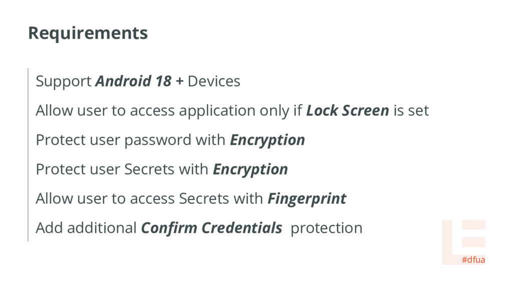 Requirements Support Android 18 + Devices Allow...