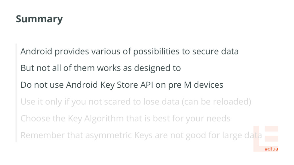 Summary Android provides various of possibiliti...