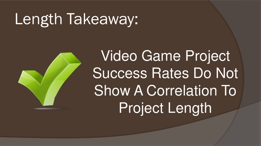 Video Game Project Success Rates Do Not Show A ...