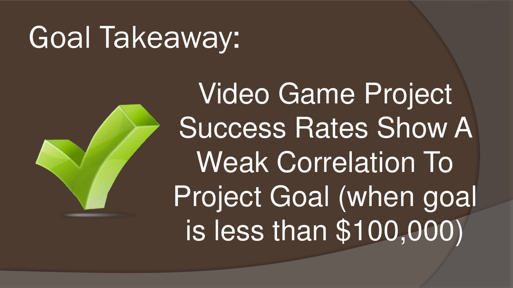 Video Game Project Success Rates Show A Weak Co...