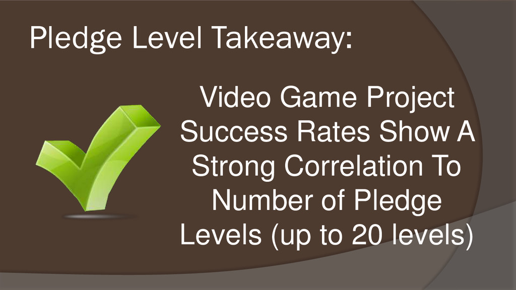 Video Game Project Success Rates Show A Strong ...
