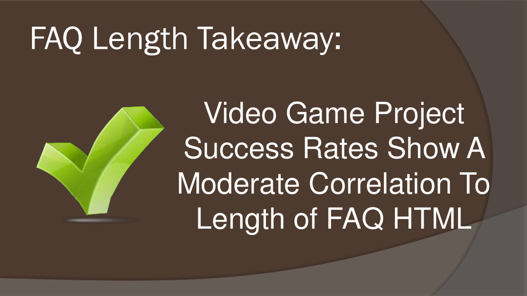 Video Game Project Success Rates Show A Moderat...