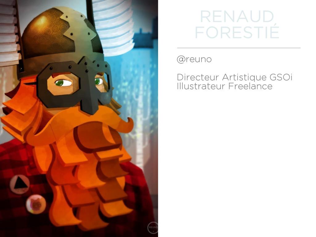 @reuno Directeur Artistique GSOi Illustrateur ...