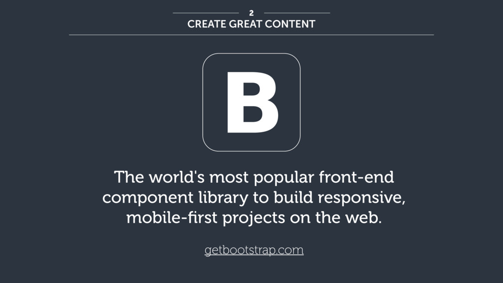 The world's most popular front-end component li...