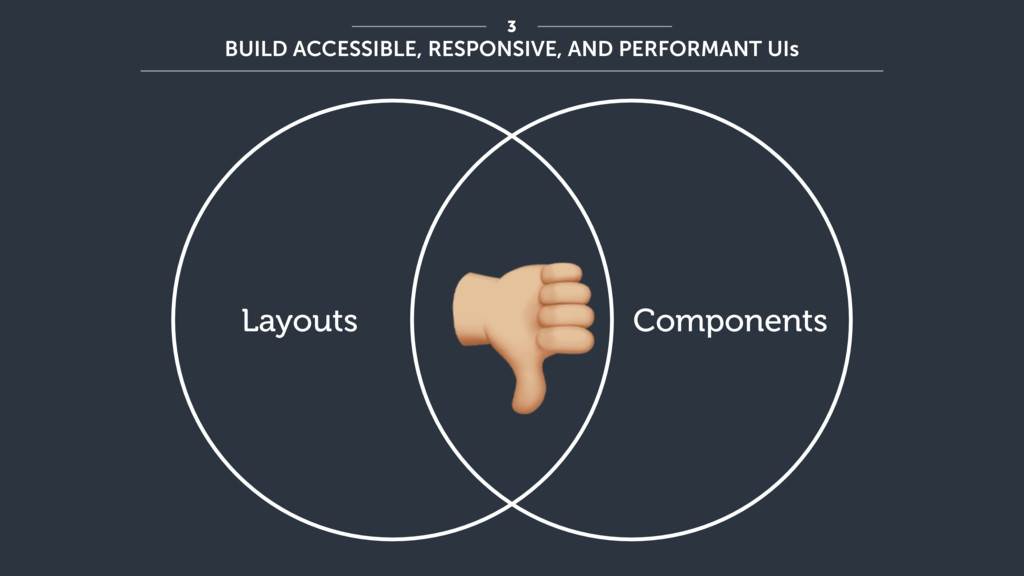 """Components Layouts """" 3 BUILD ACCESSIBLE, RESPON..."""
