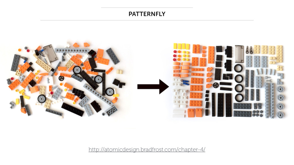http://atomicdesign.bradfrost.com/chapter-4/ PA...
