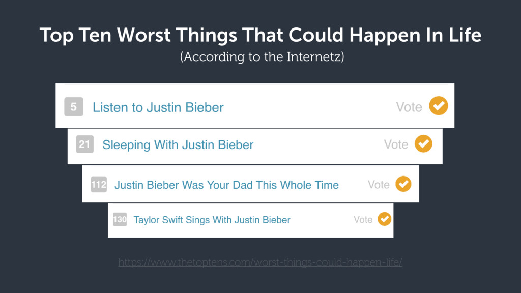 Top Ten Worst Things That Could Happen In Life ...