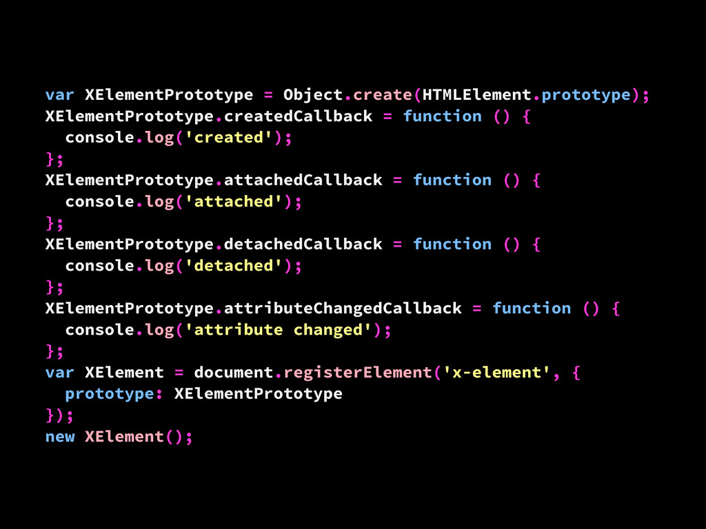 var XElementPrototype = Object.create(HTMLEleme...