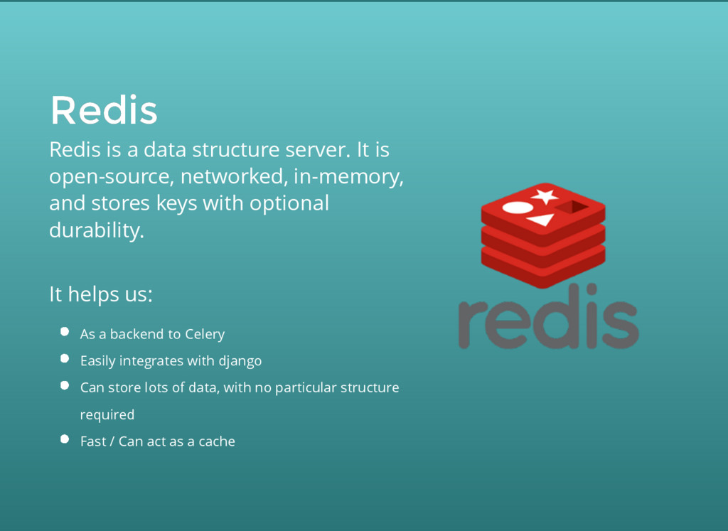 Redis Redis Redis is a data structure server. I...