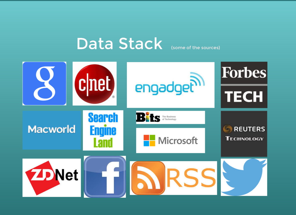 Data Stack Data Stack (some of the sources) (so...