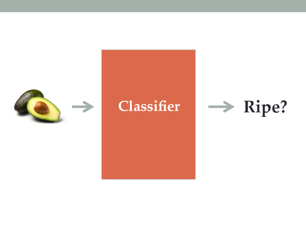Classifier Ripe?