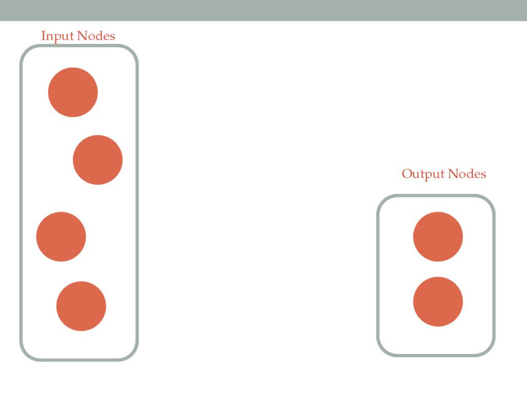 Input Nodes Output Nodes