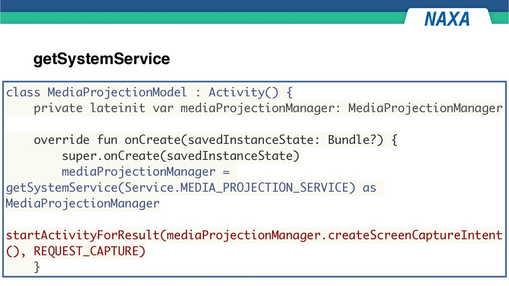 getSystemService class MediaProjectionModel : A...