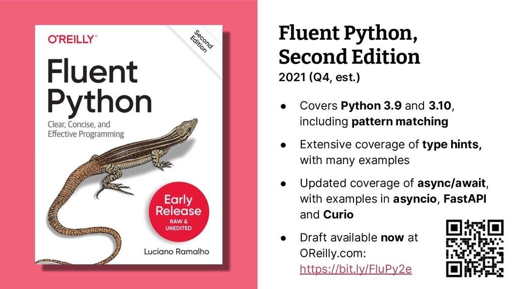 © 2021 Thoughtworks Fluent Python, Second Editi...